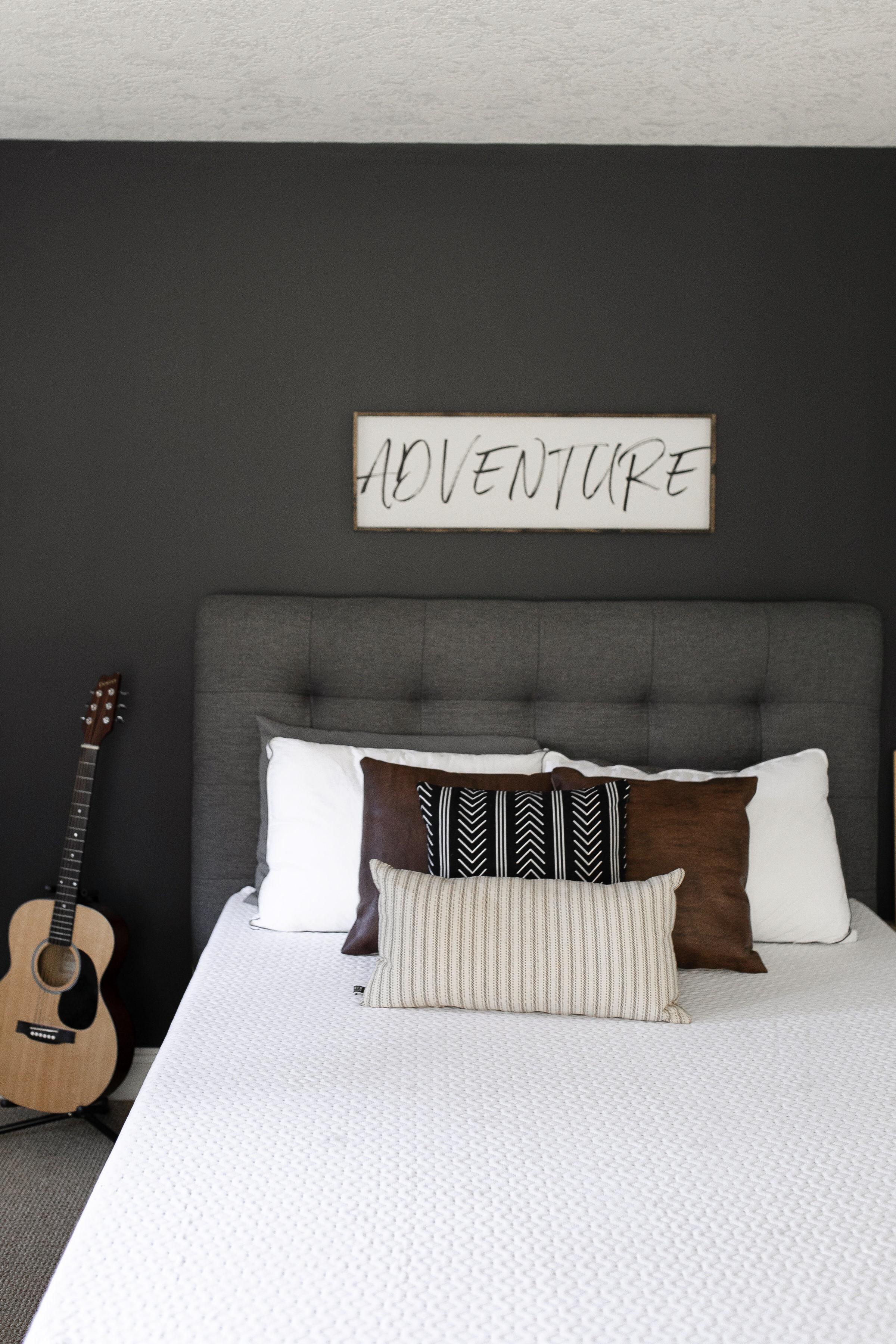 Teenage Boy Bedroom Refresh
