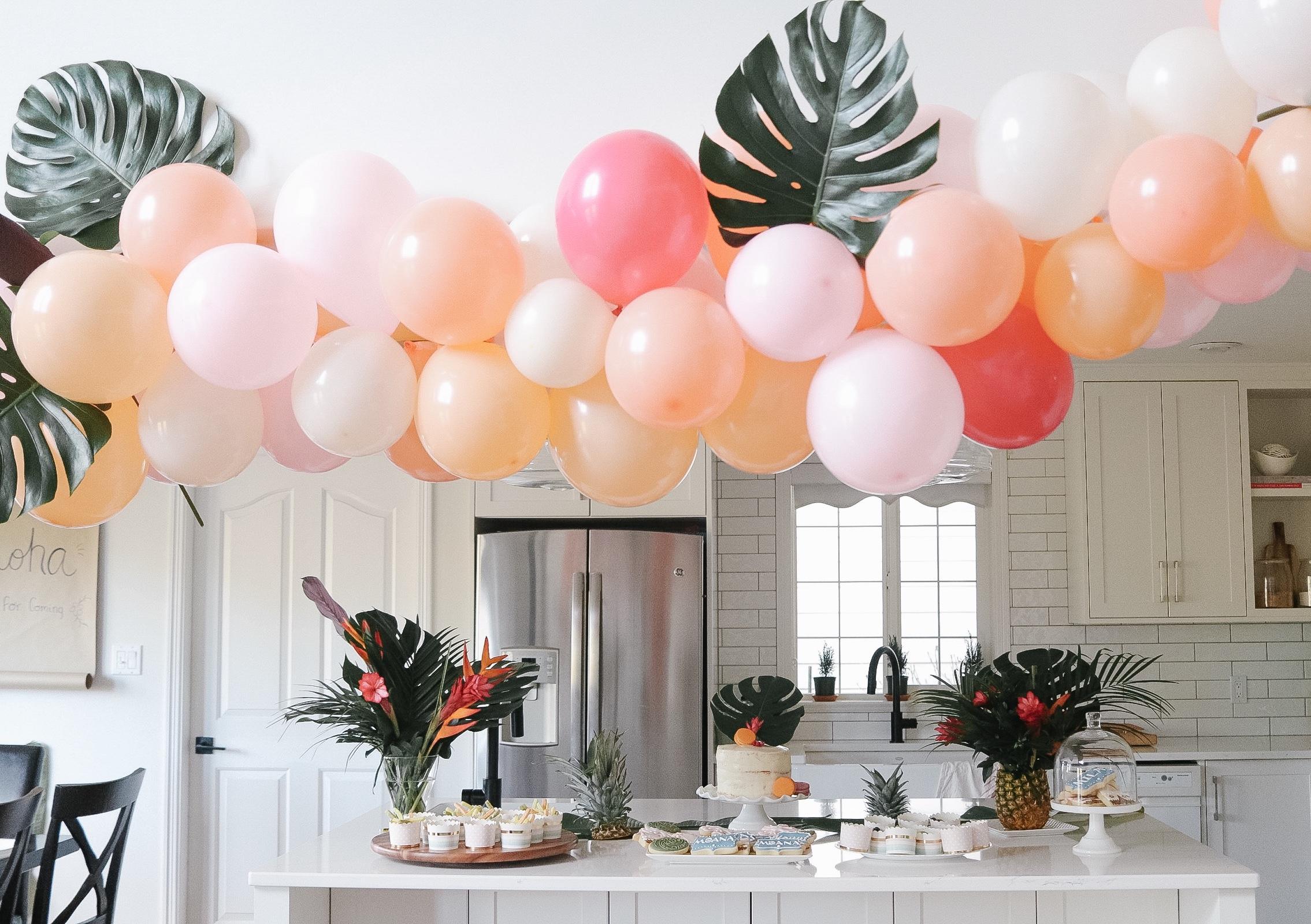 A Moana Birthday Party