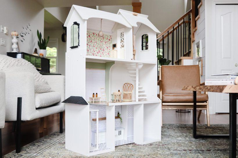 DIY Modern Farmhouse Dollhouse