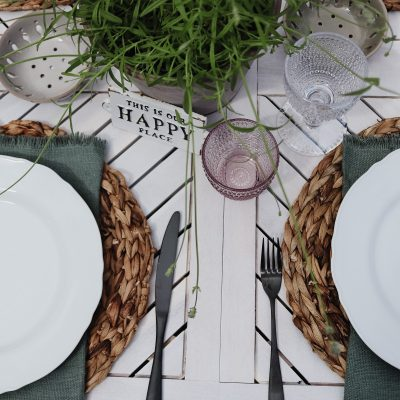 How to create an Outdoor Tablescape